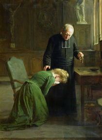 The Restitution, 1901 by Remy Cogghe
