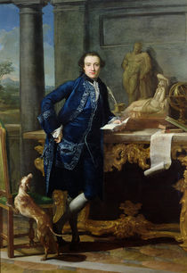 Portrait of Charles John Crowle of Crowle Park by Pompeo Girolamo Batoni