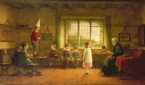 The Dame's School, s.and d. 1899 by Frederick Daniel Hardy