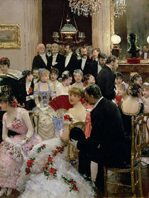The Soiree, c.1880 by Jean Beraud