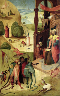 St.James and the Magician by Hieronymus Bosch