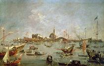 The Doge of Venice on the 'Bucentaur' by Francesco Guardi