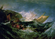 Wreck of a Transport Ship by Joseph Mallord William Turner