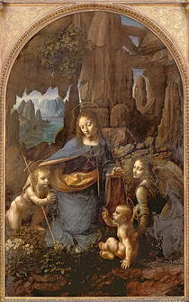 The Virgin of the Rocks , c.1508 by Leonardo Da Vinci