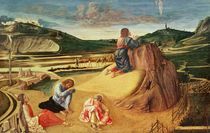 The Agony in the Garden, c.1465 von Giovanni Bellini