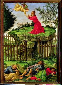 The Agony in the Garden, c.1500 von Sandro Botticelli