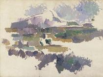Montagne Sainte-Victoire, 1904-05 von Paul Cezanne