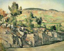 Hillside in Provence, c.1886-90 by Paul Cezanne