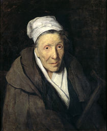 The Woman with Gambling Mania by Theodore Gericault