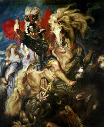 St. George and the Dragon, c.1606 by Peter Paul Rubens
