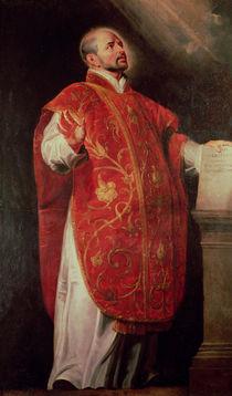 St. Ignatius of Loyola Founder of the Jesuits von Peter Paul Rubens