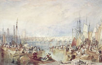 The Port of London von Joseph Mallord William Turner