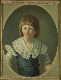 Louis XVII aged 8, at the Temple by Joseph-Marie the Younger Vien