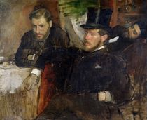 Jeantaud, Linet and Laine, 1871 by Edgar Degas