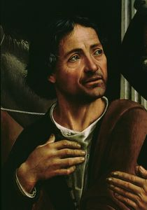 Self portrait by Domenico Ghirlandaio