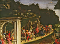 Adoration of the Shepherds by Domenico Ghirlandaio
