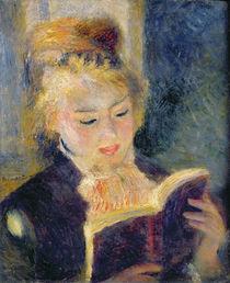Girl Reading, 1874 von Pierre-Auguste Renoir