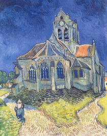 The Church at Auvers-sur-Oise by Vincent Van Gogh