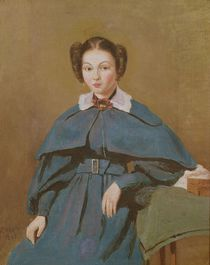 Portrait of Madame Baudot, the Artist's Niece, 1837 by Jean Baptiste Camille Corot
