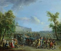 The Pillage of the Invalides by Jean-Baptiste Lallemand