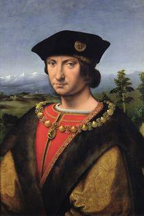 Portrait of Charles d'Amboise Marshal of France by Antonio da Solario