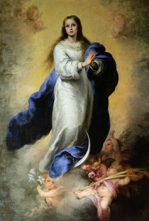 The Immaculate Conception, 1660-65 by Bartolome Esteban Murillo