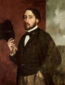 Self portrait, c.1862 von Edgar Degas