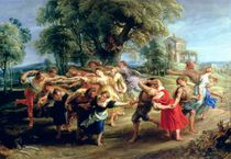 A Peasant Dance, 1636-40 by Peter Paul Rubens
