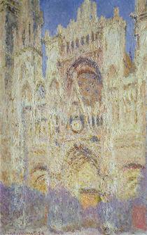 Rouen Cathedral at Sunset, 1894 von Claude Monet