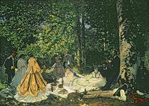 Le Dejeuner sur l'Herbe, 1865-1866 von Claude Monet
