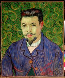 Portrait of Dr. Felix Rey, 1889 by Vincent Van Gogh