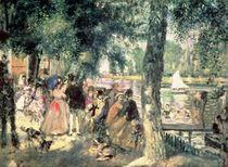 Bathing on the Seine or, La Grenouillere von Pierre-Auguste Renoir