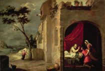 Isaac Blessing Jacob by Bartolome Esteban Murillo