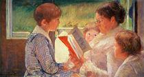 Mrs Cassatt Reading to her Grandchildren von Mary Stevenson Cassatt