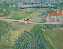 Landscape at Auvers after the Rain von Vincent Van Gogh