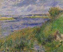 The Banks of the Seine, Champrosay by Pierre-Auguste Renoir