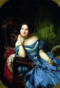 Portrait of Amalia de Llano y Dotres von Federico de Madrazo y Kuntz