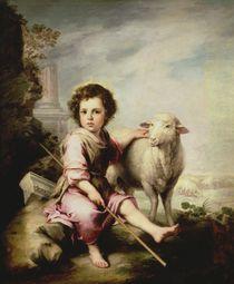 The Good Shepherd, c.1650 by Bartolome Esteban Murillo