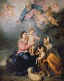 The Holy Family or The Virgin of Seville von Bartolome Esteban Murillo
