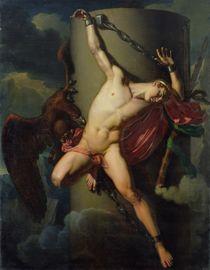 The Torture of Prometheus, 1819 von Jean-Louis-Cesar Lair