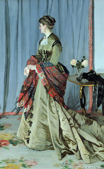 Portrait of Madame Louis Joachim Gaudibert von Claude Monet
