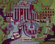 The Brandenburg Gate, Berlin by Ernst Ludwig Kirchner