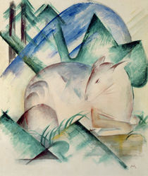Sleeping Deer von Franz Marc