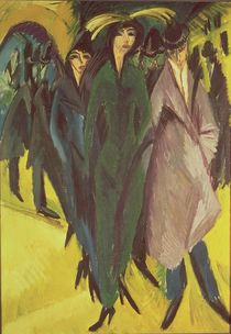 Women on the Street, 1915 von Ernst Ludwig Kirchner