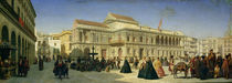 The Plaza de San Francisco and the Ayuntamiento by Achille Zo