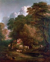 The Market Cart, 1786