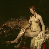 Bathsheba Bathing, 1654 von Rembrandt Harmenszoon van Rijn