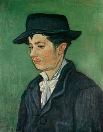 Portrait of Armand Roulin, 1888 von Vincent Van Gogh