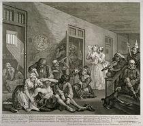 Plate VIII from A Rake's Progress by William Hogarth