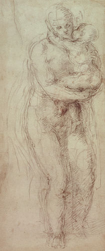 Madonna and Child by Michelangelo Buonarroti